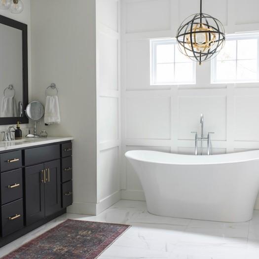 Bathroom flooring | Johnston Paint & Decorating
