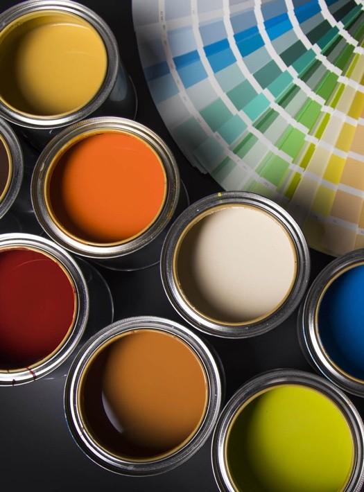 Paint cans | Johnston Paint & Decorating