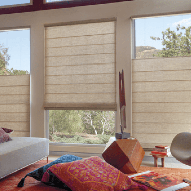 Woven Textures | Johnston Paint & Decorating Hunter Douglas Window Coverings
