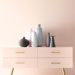 Pink colorwall | Johnston Paint & Decorating