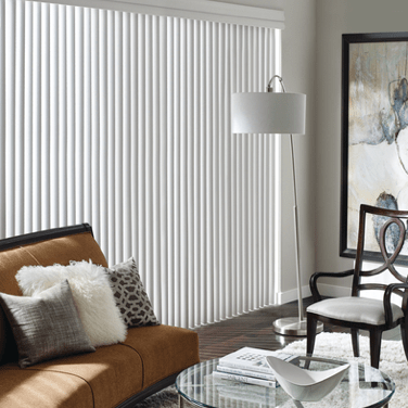 Soft Vertical Blinds | Johnston Paint & Decorating Hunter Douglas Window Coverings