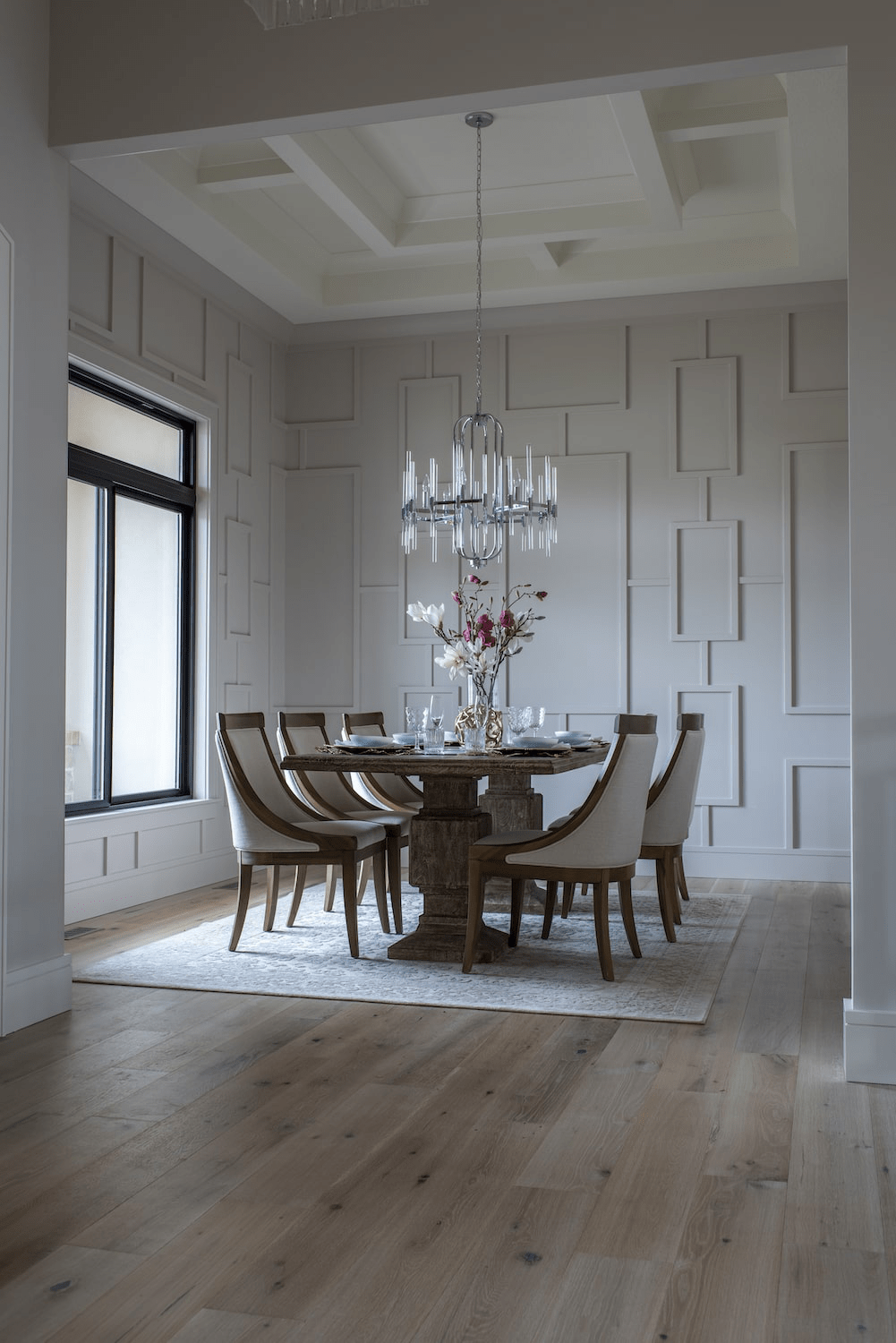 Dining room flooring | Johnston Paint & Decorating