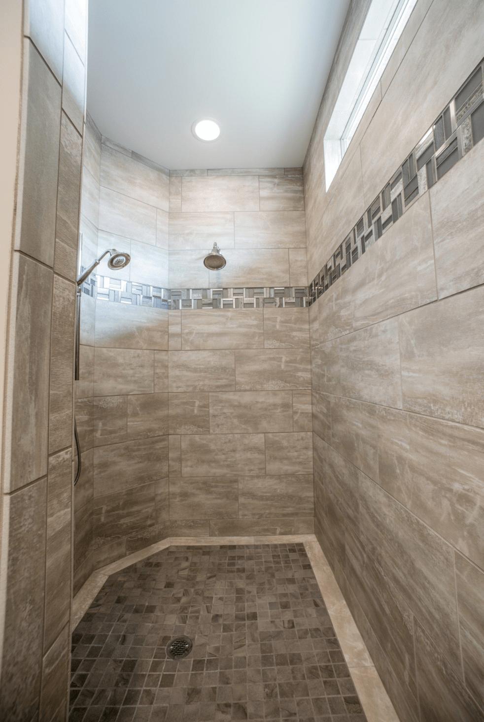 Bathroom wall designs | Johnston Paint & Decorating