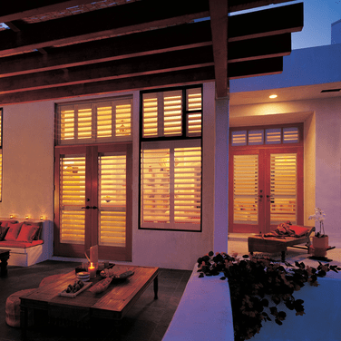 Hybrid Shutters | Johnston Paint & Decorating Hunter Douglas Window Coverings