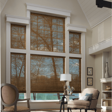 Woven Woods Shades | Johnston Paint & Decorating Hunter Douglas Window Coverings