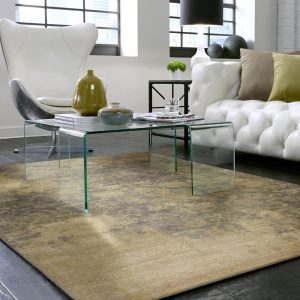 Area Rug in living room | Johnston Paint & Decorating
